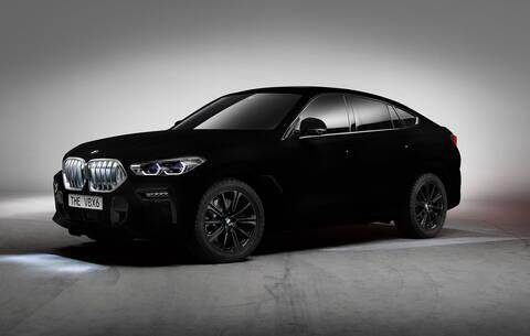 H BMW X6 Vantablack έχει το πιο μαύρο χρώμα στον κόσμο (vid)