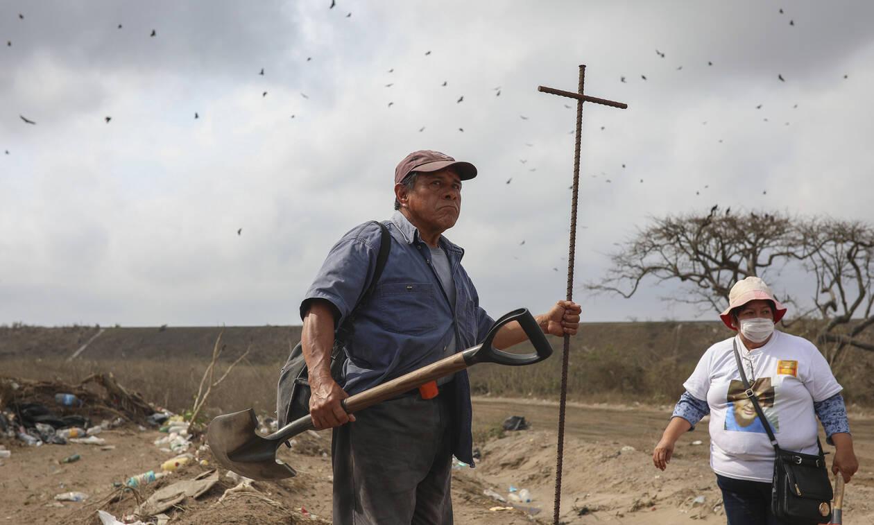 Σοκ: Έχουν βρεθεί 3.024 μυστικοί ομαδικοί τάφοι από το 2006 στο Μεξικό