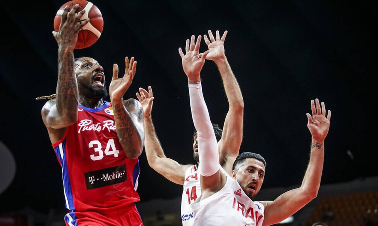 Μουντομπάσκετ 2019: Ιράν - Πουέρτο Ρίκο 81 - 83