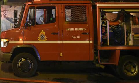 Φωτιά σε κτήριο στη Λεωφόρο Κηφισίας