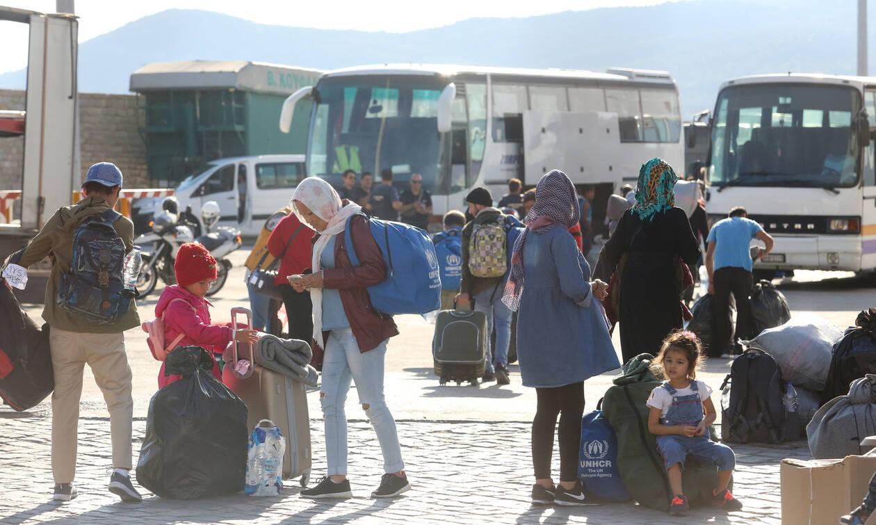 Μυτιλήνη: Αναχωρούν 1.500 αιτούντες άσυλο - 300 νέες αφίξεις