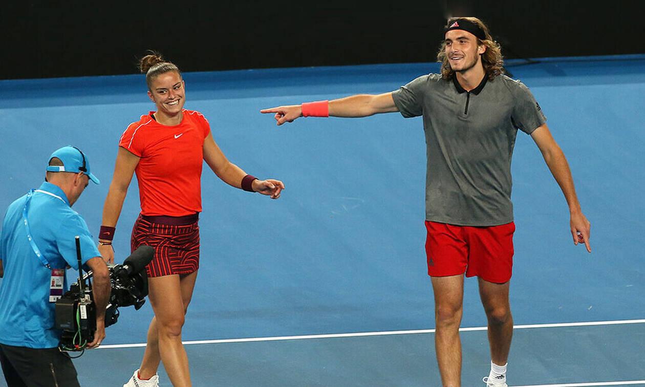 US Open: Πρόστιμα σε Τσιτσιπά και Σάκκαρη - Δείτε γιατί (pics)