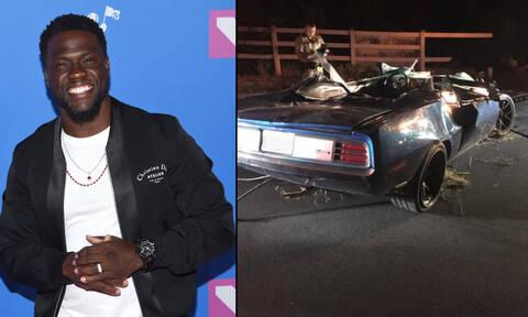 ΗΠΑ: Τραυματίστηκε σε τροχαίο ο ηθοποιός Κέβιν Χαρτ - Σώθηκε από θαύμα (pics)