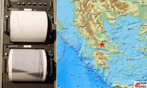 Σεισμός μεταξύ Αμφίκλειας και Λαμίας - Αυτό είναι το μέγεθος της δόνησης (pics)