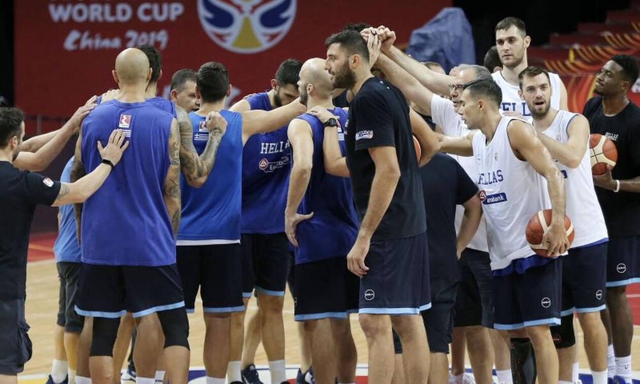 Έτοιμη η Ελλάδα για τη Βραζιλία και το δυο στα δυο στο Μουντομπάσκετ 2019
