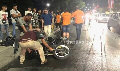 Τραγωδία στη Θεσσαλονίκη: Μοτοσυκλέτα παρέσυρε και σκότωσε 73χρονη - Στην εντατική και ο οδηγός