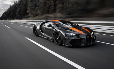 Φοβερό ρεκόρ για την Bugatti Chiron που έπιασε τα 490,484 χλμ./ώρα!