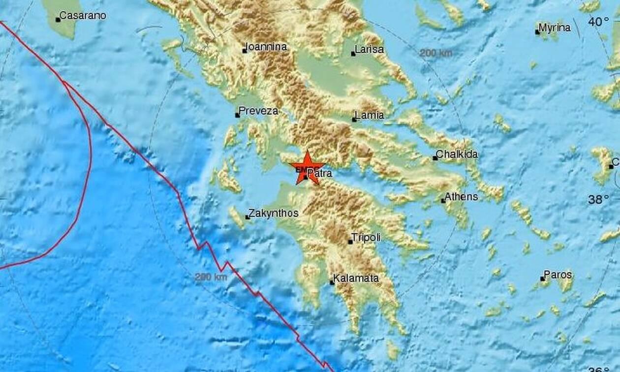 Σεισμός ΤΩΡΑ κοντά στην Πάτρα - Αισθητός σε αρκετές περιοχές (pics)