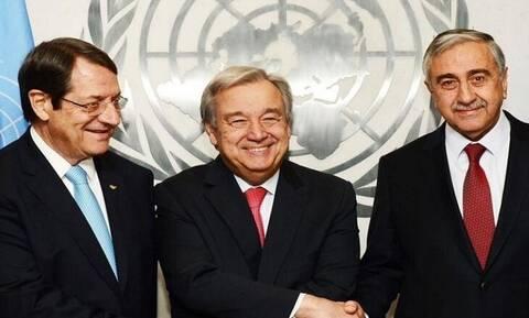 Анастасиадис, Акынджи и Гутерриш попытаются возобновить  диалог по кипрскому урегулированию