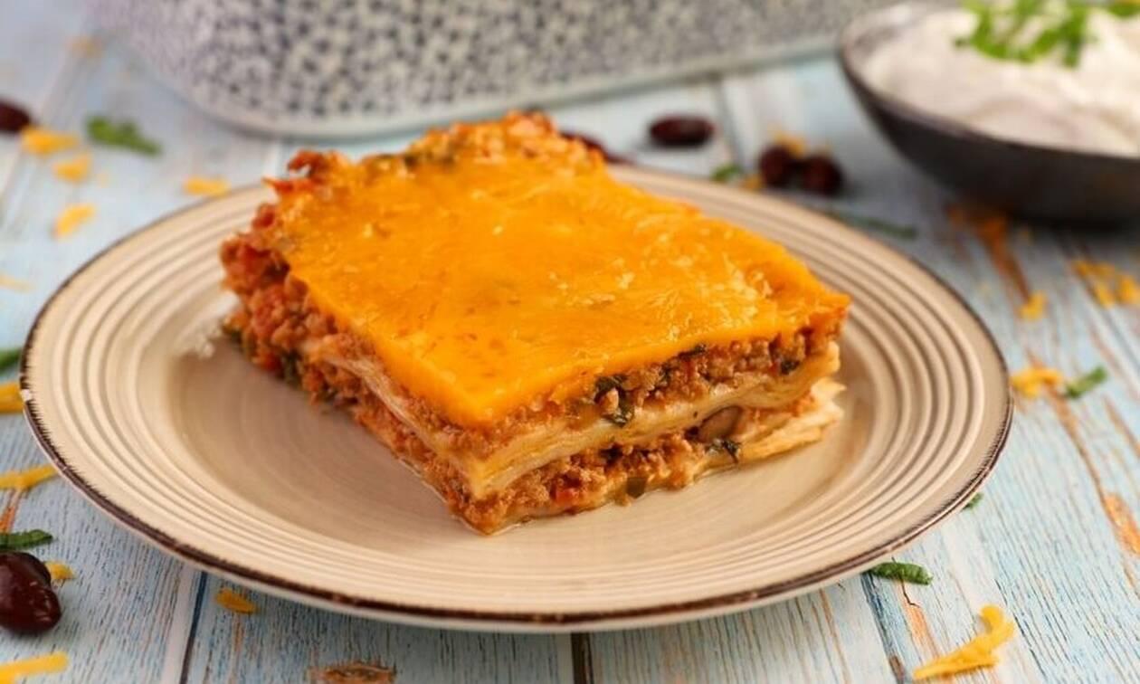 Απολαυστική συνταγή: Enchiladas με κιμά