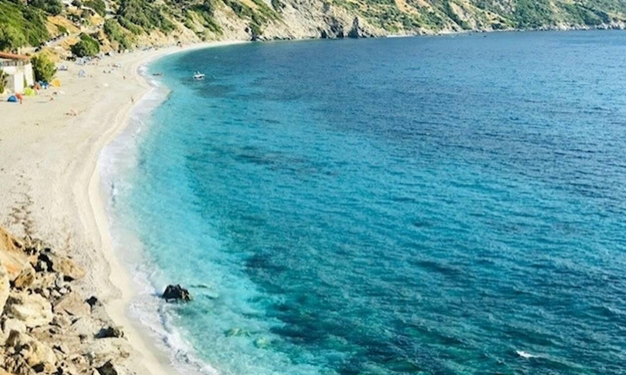 Η ονειρεμένη παραλία της Εύβοιας για πρόταση γάμου (vid)