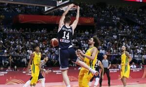 Μουντομπάσκετ 2019: Το απίστευτο κάρφωμα του Παπαγιάννη στο Ελλάδα - Βραζιλία