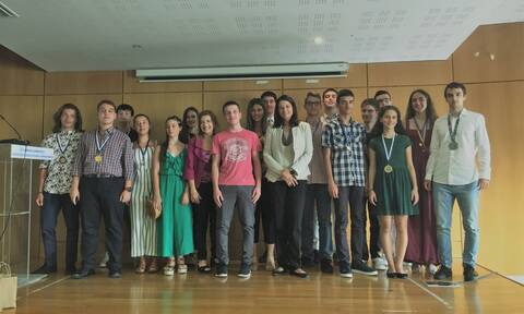 Υπουργείο Παιδείας: Βράβευση διακριθέντων μαθητών σε Μαθηματικές Ολυμπιάδες