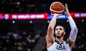 Παγκόσμιο Κύπελλο Μπάσκετ 2019: Σοκ με Τέιτουμ! (photos)