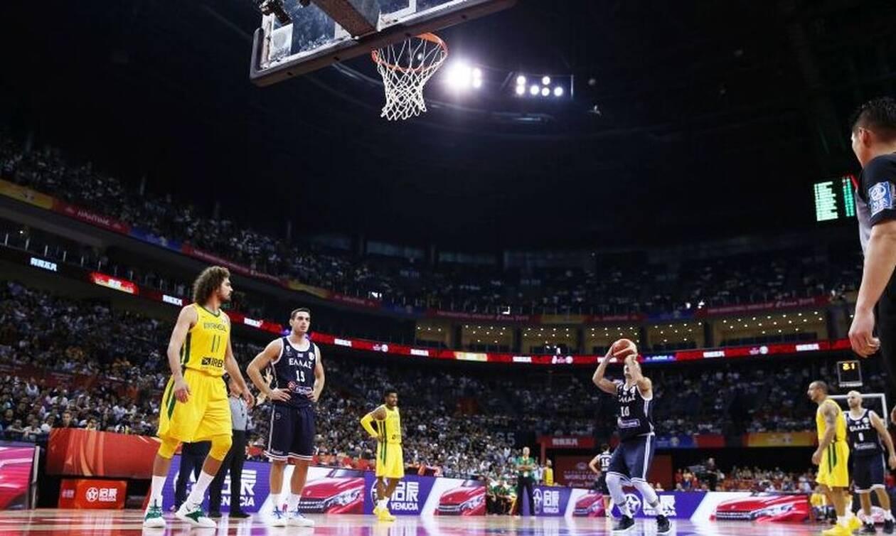 Μουντομπάσκετ 2019: Αντικανονικό (;) το διώξιμο στην βολή του Σλούκα! (video)
