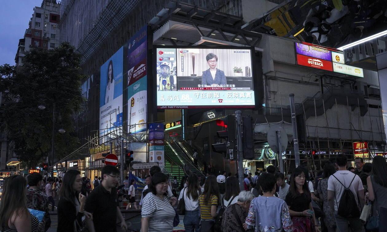 Χονγκ Κονγκ: Αποσύρεται το αμφιλεγόμενο νομοσχέδιο που πυροδότησε τις αιματηρές διαδηλώσεις
