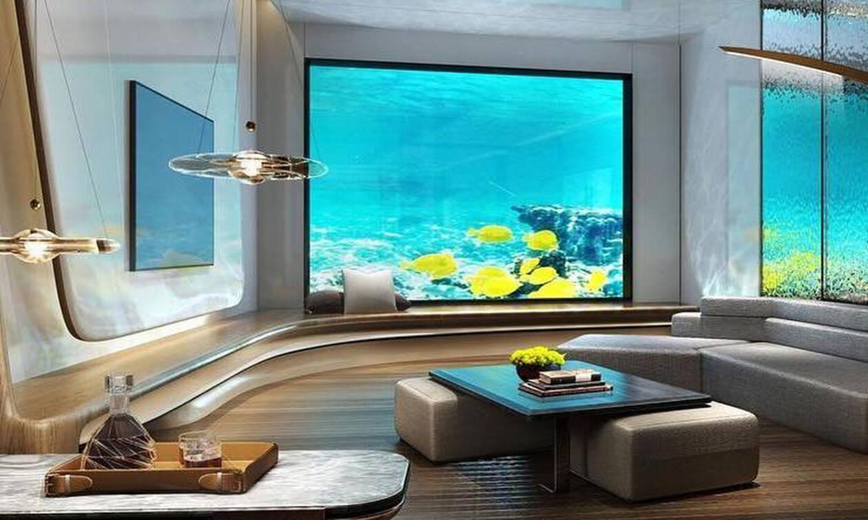 Τα 9 εντυπωσιακότερα δωμάτια ξενοδοχείων που βρίσκονται κυριολεκτικά ...κάτω από το νερό