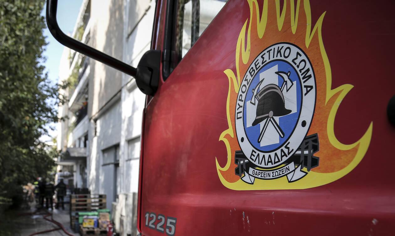 Φωτιά ΤΩΡΑ στο Μαρκόπουλο
