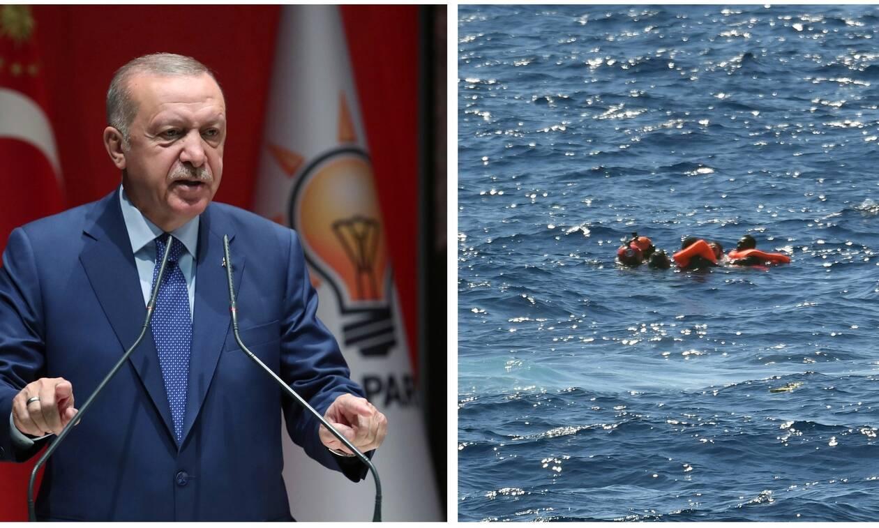 Σκληρή απάντηση της Ε.Ε. στους εκβιασμούς του Ερντογάν για το προσφυγικό