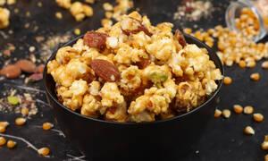Φτιάξτε υπέροχο καραμελωμένο pop corn