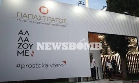 ΔΕΘ 2019: Μέγας χορηγός η Παπαστράτος - Αποκλειστικές δηλώσεις του αντιπροέδρου στο Newsbomb.gr