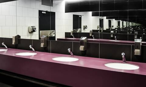 Εφιάλτης: Μπήκε στις τουαλέτες του εστιατορίου - Τρόμος με αυτό που αντίκρισε (pics)