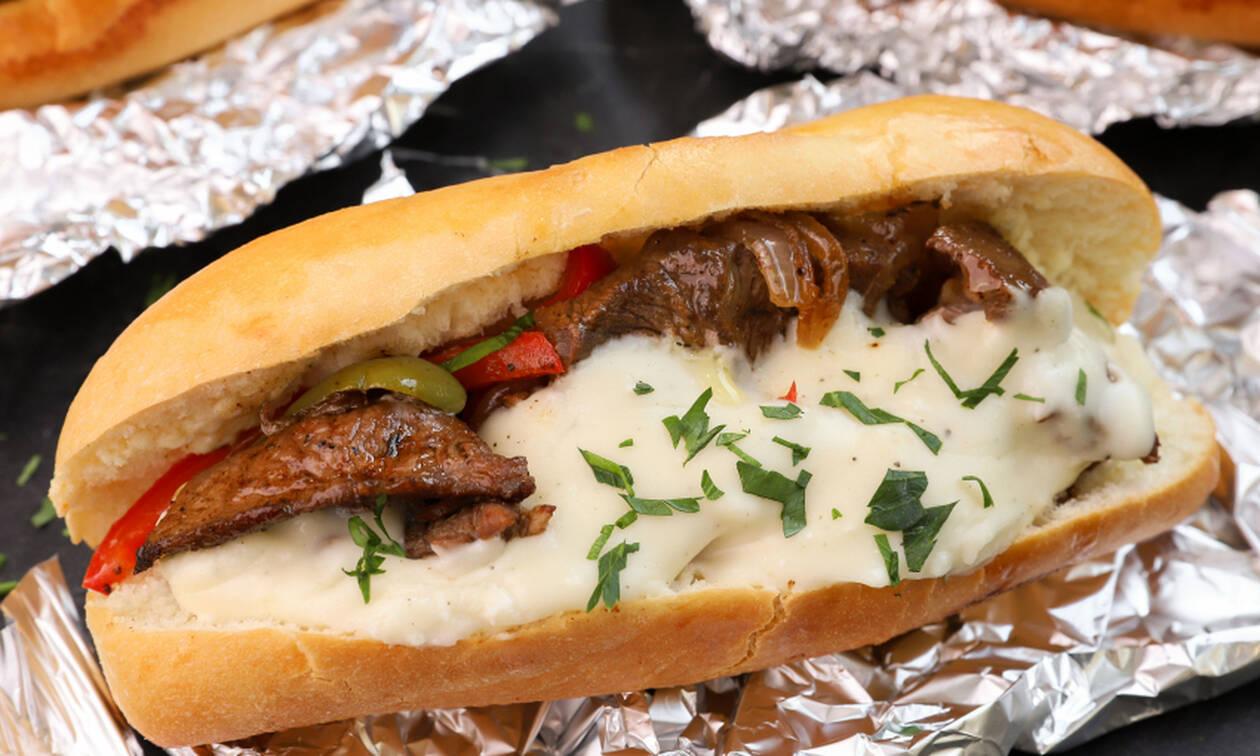 Πανεύκολη συνταγή για philly steak sandwich - Newsbomb