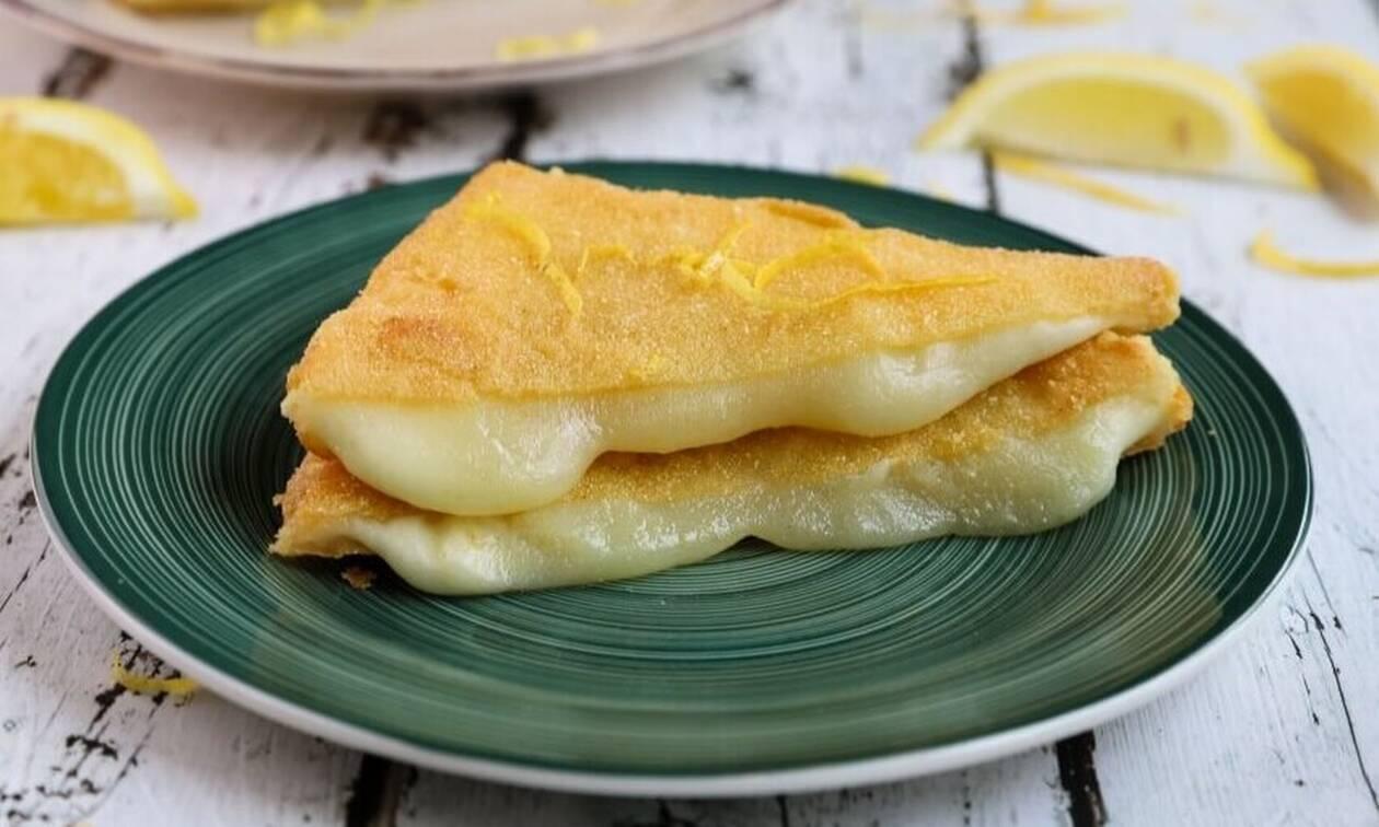 Πεντανόστιμη συνταγή για τυρί σαγανάκι