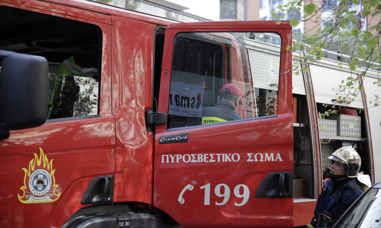 Fire at paper mill in Aspropyrgos