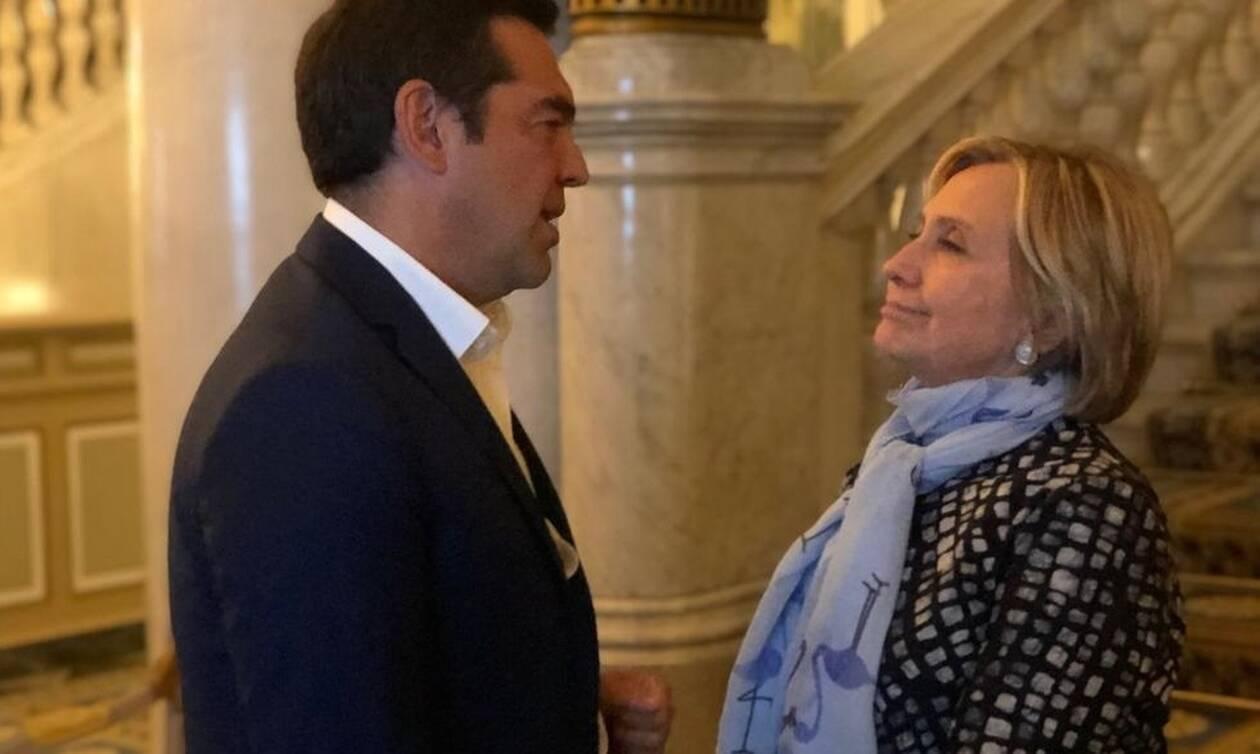 European House Ambrosetti: Τι είπαν Τσίπρας και Χίλαρι Κλίντον