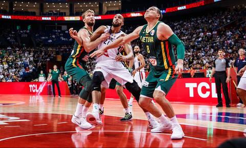 Απίστευτο διαιτητικό λάθος στο Μουντομπάσκετ - Ένσταση στη FIBA η Λιθουανία!