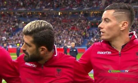 Τραγική γκάφα! Έπαιξε λάθος ύμνος στο Γαλλία-Αλβανία (video)