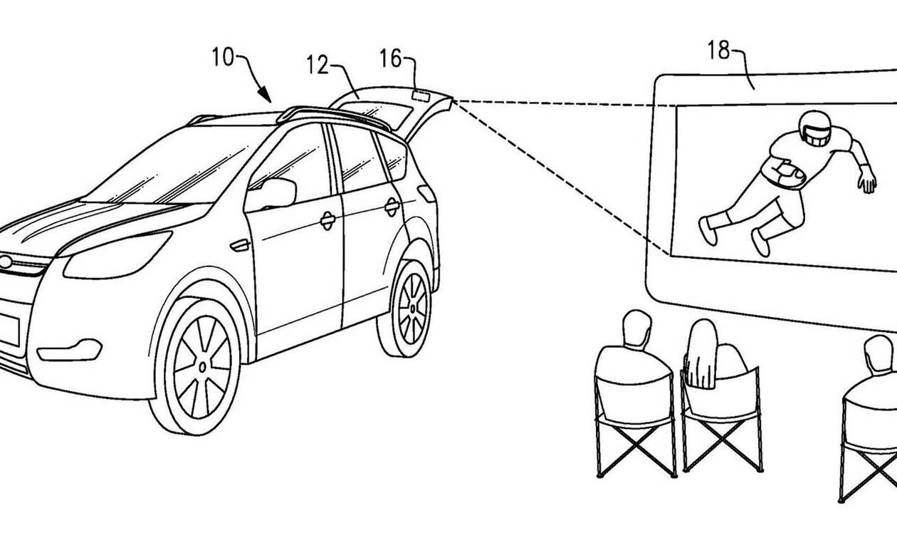 Η Ford μετατρέπει τα SUV σε… θερινό σινεμά