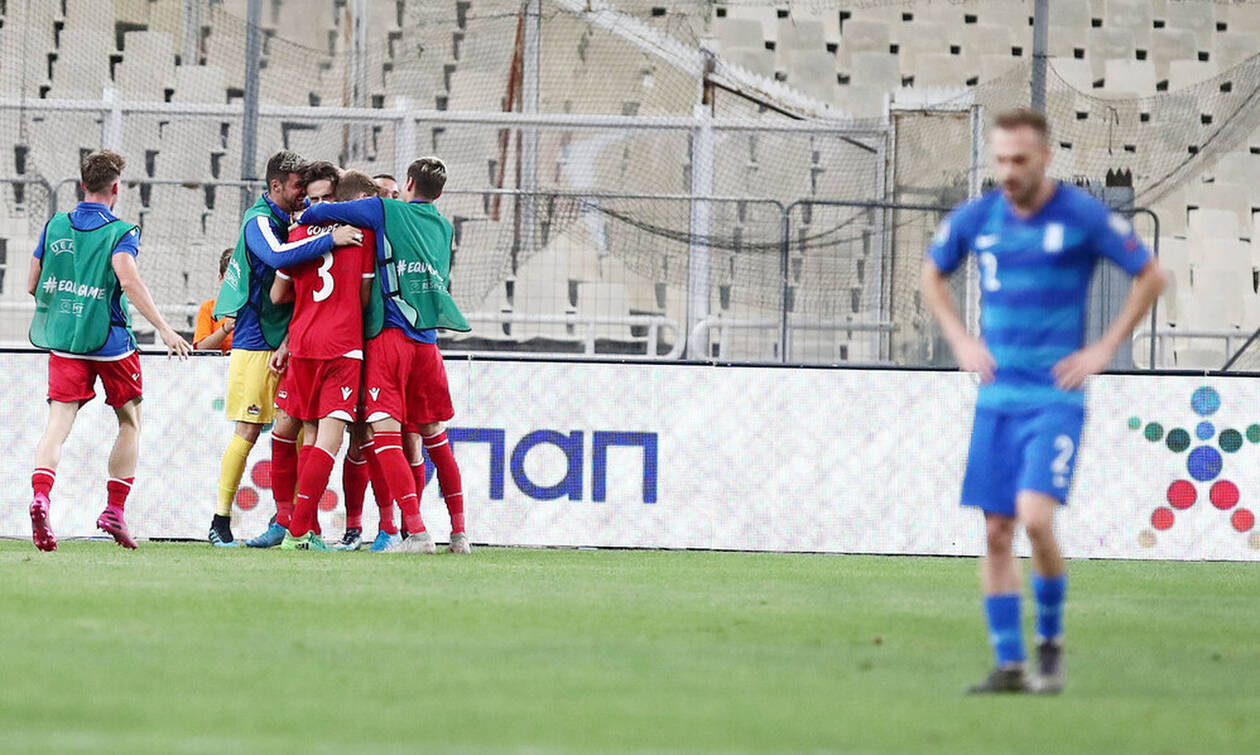 Ελλάδα-Λιχτενστάιν 1-1: Αντί για νέα αρχή, νέα εθνική... απογοήτευση! (photos)