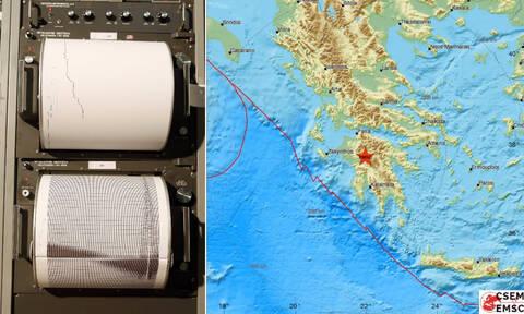 Σεισμός Δημητσάνα: Έτσι κατέγραψε ο σεισμογράφος τη δόνηση που αναστάτωσε την Πελοπόννησο (pics)