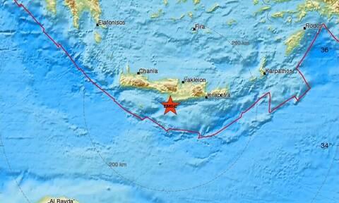 Σεισμός ΤΩΡΑ νότια της Κρήτης (pics)