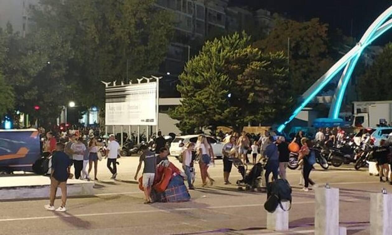 Πανικός με αερόστατο στη Θεσσαλονίκη: Τραυματίστηκε γυναίκα - Δείτε τι συνέβη