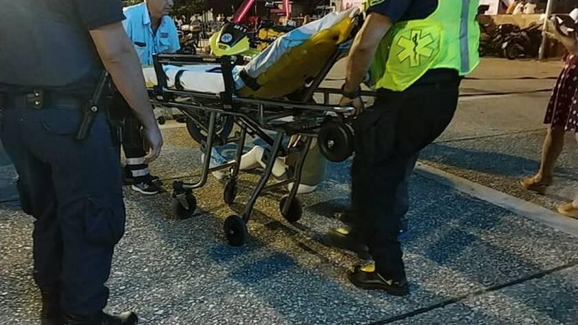 Γυναίκα τραυματίστηκε έξω από την ΔΕΘ