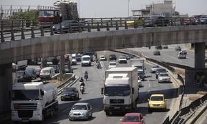 Χάος στην Αθηνών - Λαμίας: Τεράστιο μποτιλιάρισμα λόγω τροχαίου