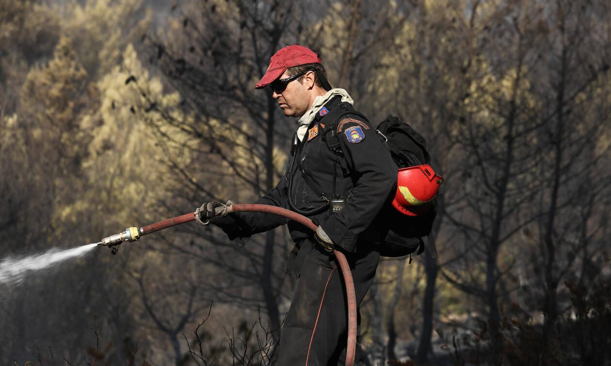 Φωτιά ΤΩΡΑ: Μεγάλη πυρκαγιά στη Μυτιλήνη
