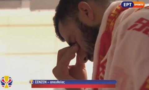 Μουντομπάσκετ 2019: Τα δάκρυα του Μπουρούση και η θλίψη του Αντετοκούνμπο στα αποδυτήρια (vid)