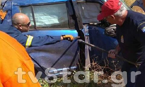 Τραγωδία στην Ερέτρια: Νεκρή 35χρονη σε φρικτό τροχαίο (pics)