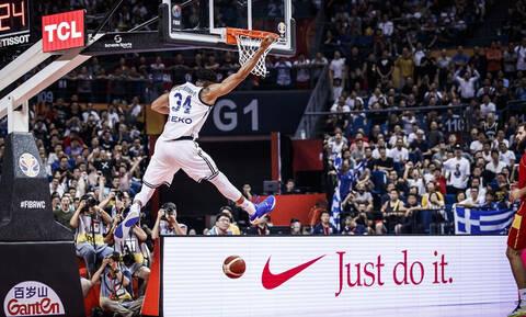 Παγκόσμιο Κύπελλο Μπάσκετ 2019: Τα highlights του Γιάννη Αντετοκούνμπο (photos+video)