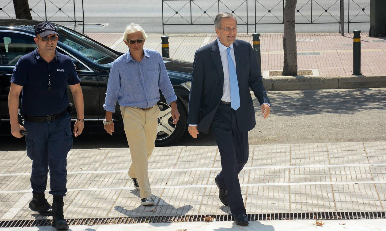 Υπόθεση Νοvartis: Άρχισε την κατάθεσή του ο Αντώνης Σαμαράς - Τι θα υποστηρίξει