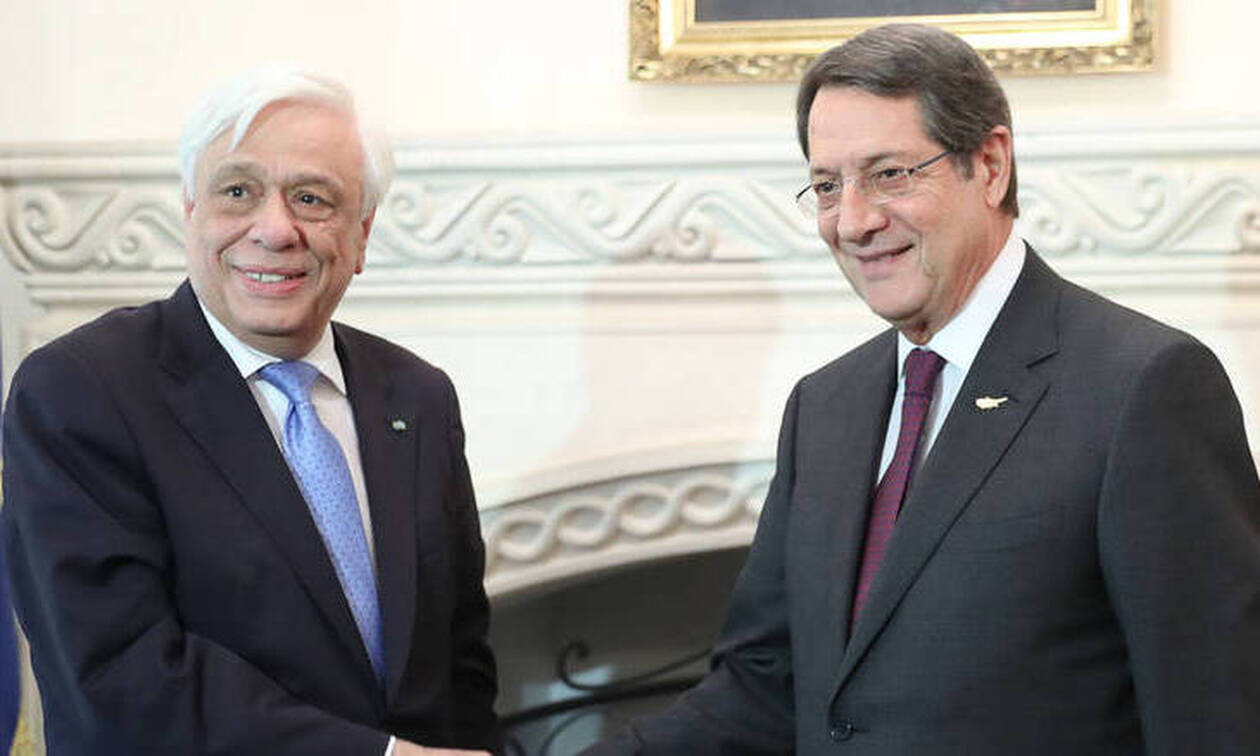 Τηλεφωνική επικοινωνία Παυλόπουλου – Αναστασιάδη για το Κυπριακό