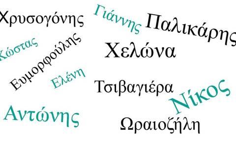 Πιο περίεργα ελληνικά ονόματα δεν έχεις ξανακούσει!