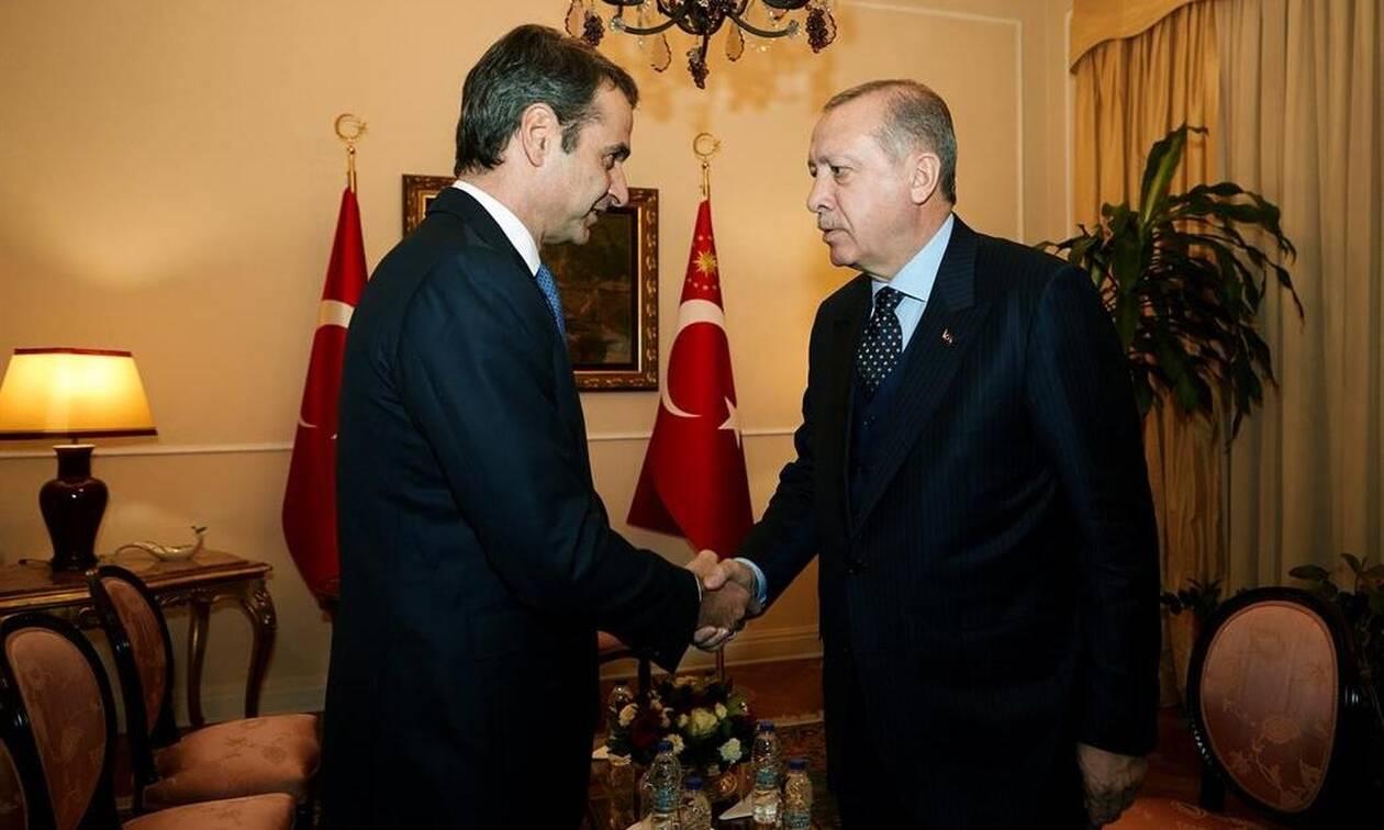 Συνάντηση Μητσοτάκη - Ερντογάν: «Κλείδωσε» το ραντεβού των δύο ηγετών