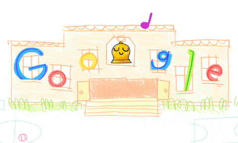 Πρώτη μέρα στο σχολείο: Το doodle της Google για τη νέα σχολική χρονιά