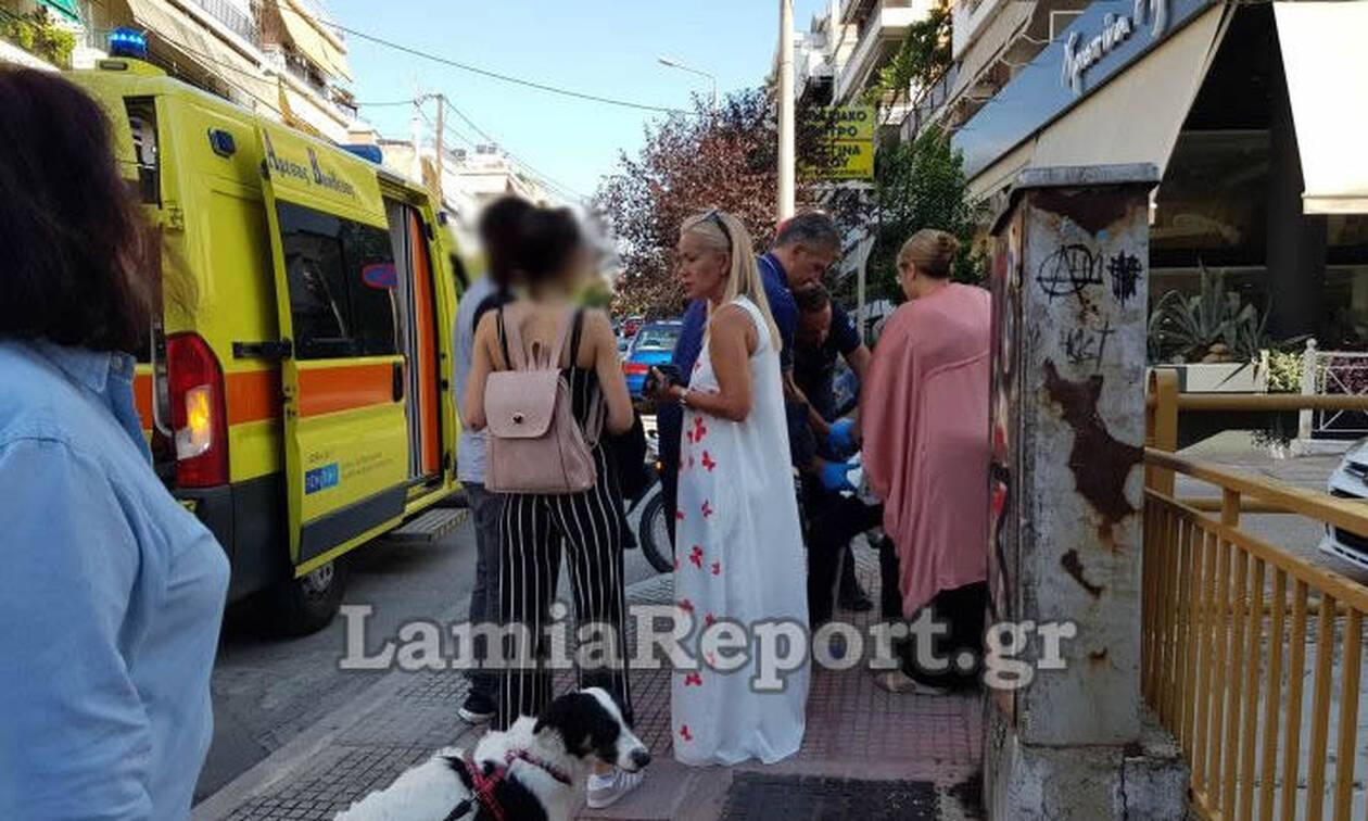 Λαμία: Γυναίκα παρασύρθηκε από μηχανάκι – (Σκληρές εικόνες)