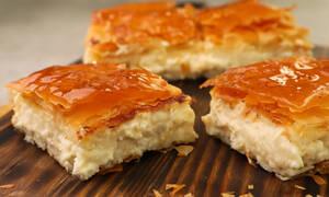 Η συνταγή της ημέρας: Μπουγάτσα με τυρί